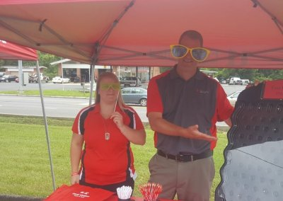 Photo of First United Associates Volunteering at a Community Event