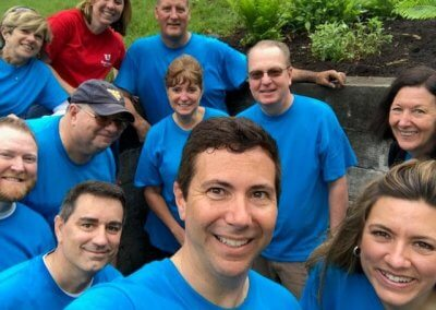 Photo of First United Associates Volunteering in our Community