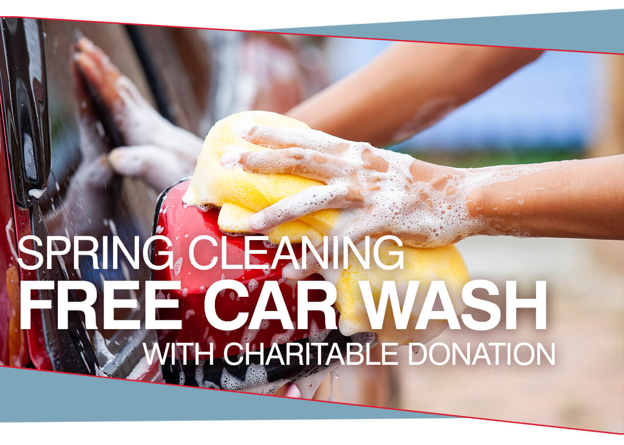 Spring Cleaning Free Car Wash with Charitable Donation